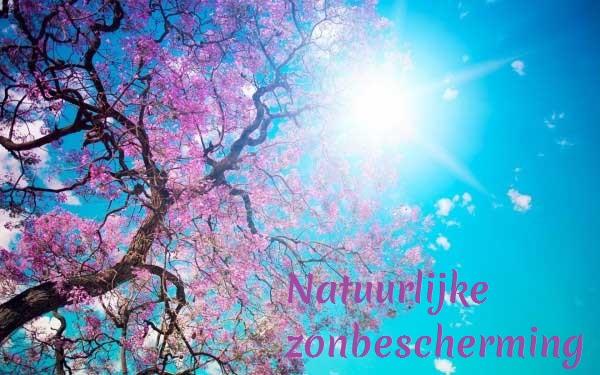 Natuurlijke zonbescherming