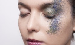 Fotoshoot extreme make-up model: Feline van Hoogstraten Visagie: Melissa Hollegien Fotografie: www.wenckerensen.nl